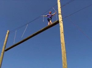 Building Trust on the High Ropes